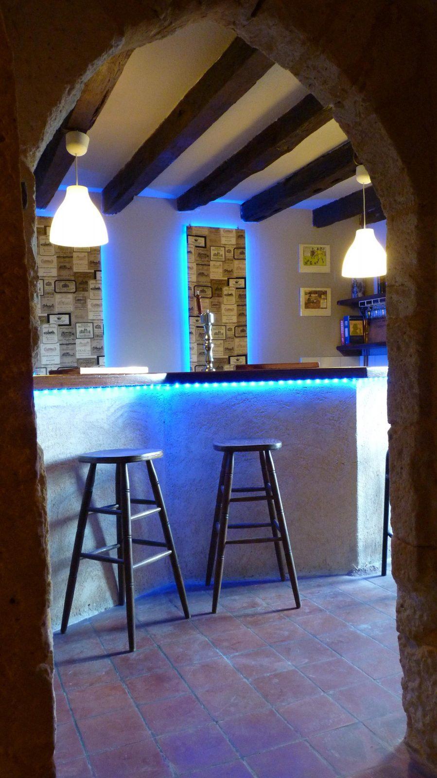 The bar chateau de sadillac