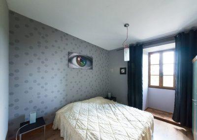 Chateau de Sadillac bedroom