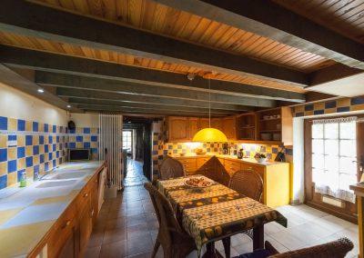 Chateau de Sadillac kitchen